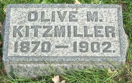 KITZMILLER, OLIVE M. - Stark County, Ohio | OLIVE M. KITZMILLER - Ohio Gravestone Photos