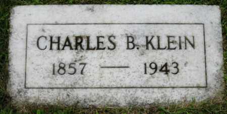 KLEIN, CHARLES B. - Stark County, Ohio   CHARLES B. KLEIN - Ohio Gravestone Photos