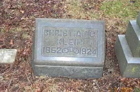 KLEIN, CHRISTIAN C. - Stark County, Ohio | CHRISTIAN C. KLEIN - Ohio Gravestone Photos
