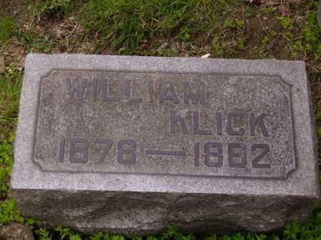 KLICK, WILLIAM - Stark County, Ohio | WILLIAM KLICK - Ohio Gravestone Photos