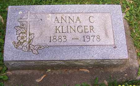 KLINGER, ANNA C. - Stark County, Ohio   ANNA C. KLINGER - Ohio Gravestone Photos