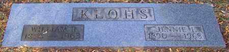 KLOHS, WILLIAM R. - Stark County, Ohio   WILLIAM R. KLOHS - Ohio Gravestone Photos