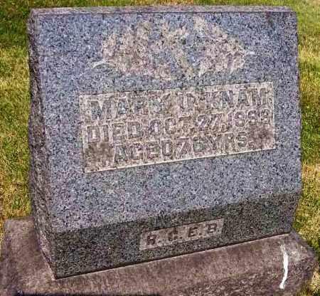 KNAM, MARY U. - Stark County, Ohio | MARY U. KNAM - Ohio Gravestone Photos