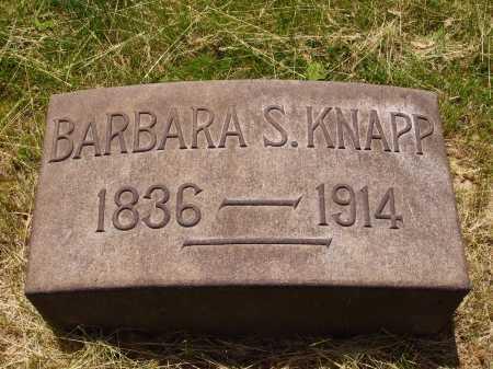 KNAPP, BARBARA - Stark County, Ohio | BARBARA KNAPP - Ohio Gravestone Photos