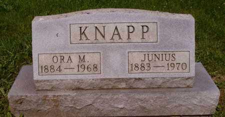 KNAPP, ORA M. - Stark County, Ohio | ORA M. KNAPP - Ohio Gravestone Photos