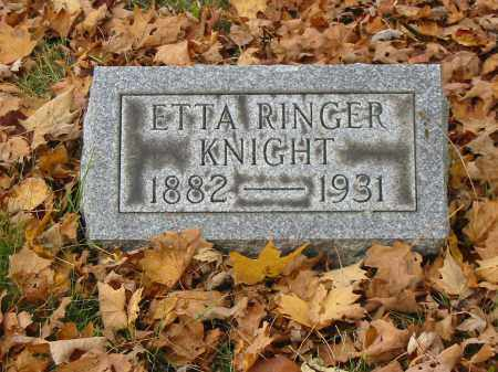 KNIGHT, ETTA - Stark County, Ohio | ETTA KNIGHT - Ohio Gravestone Photos