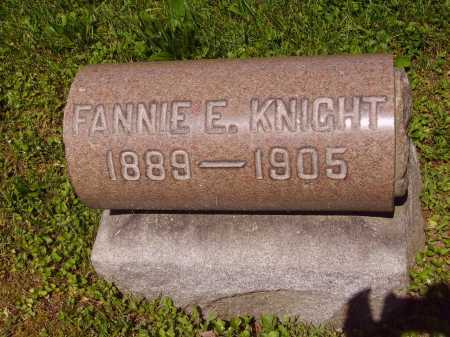 KNIGHT, FANNIE E. - Stark County, Ohio | FANNIE E. KNIGHT - Ohio Gravestone Photos