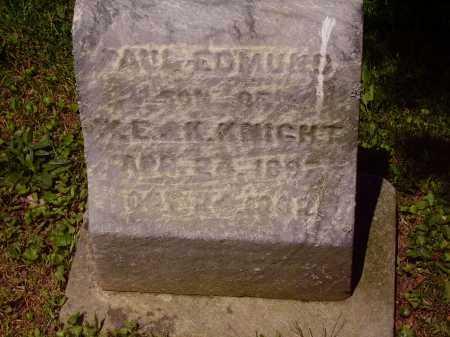 KNIGHT, PAUL EDMUND - Stark County, Ohio | PAUL EDMUND KNIGHT - Ohio Gravestone Photos