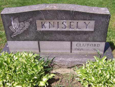 KNISELY, CLIFFORD - Stark County, Ohio | CLIFFORD KNISELY - Ohio Gravestone Photos