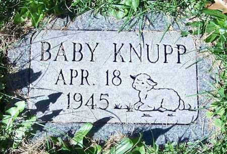 KNUPP, BABY - Stark County, Ohio | BABY KNUPP - Ohio Gravestone Photos