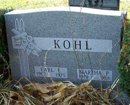 KOHL, MARTHA P. - Stark County, Ohio | MARTHA P. KOHL - Ohio Gravestone Photos