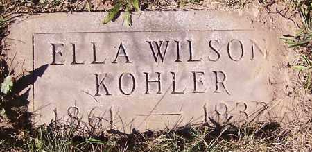 KOHLER, ELLA WILSON - Stark County, Ohio   ELLA WILSON KOHLER - Ohio Gravestone Photos