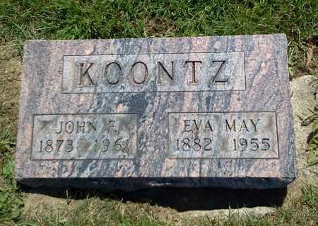 KOONTZ, EVA MAY - Stark County, Ohio | EVA MAY KOONTZ - Ohio Gravestone Photos