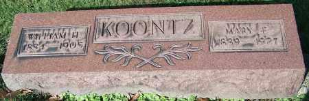 KOONTZ, MARY E. - Stark County, Ohio | MARY E. KOONTZ - Ohio Gravestone Photos