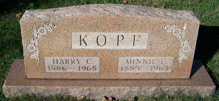 KOPF, HARRY C. - Stark County, Ohio   HARRY C. KOPF - Ohio Gravestone Photos