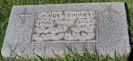 KOURI, CARI - Stark County, Ohio   CARI KOURI - Ohio Gravestone Photos