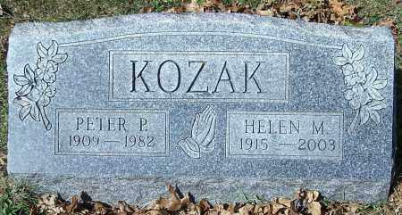 KOZAK, HELEN M. - Stark County, Ohio | HELEN M. KOZAK - Ohio Gravestone Photos