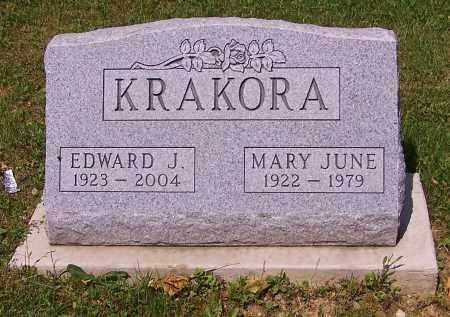 KRAKORA, MARY JUNE - Stark County, Ohio   MARY JUNE KRAKORA - Ohio Gravestone Photos