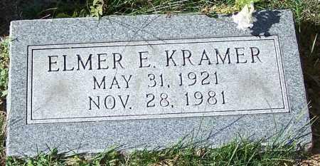 KRAMER, ELMER E. - Stark County, Ohio   ELMER E. KRAMER - Ohio Gravestone Photos