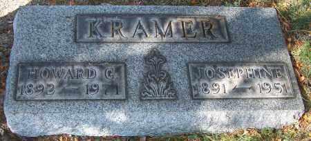 KRAMER, HOWARD G. - Stark County, Ohio   HOWARD G. KRAMER - Ohio Gravestone Photos