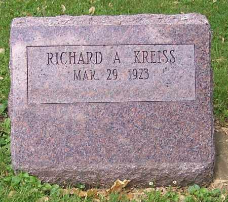 KREISS, RICHARD A. - Stark County, Ohio | RICHARD A. KREISS - Ohio Gravestone Photos