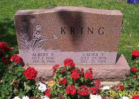 KRING, ALBERT F. - Stark County, Ohio | ALBERT F. KRING - Ohio Gravestone Photos