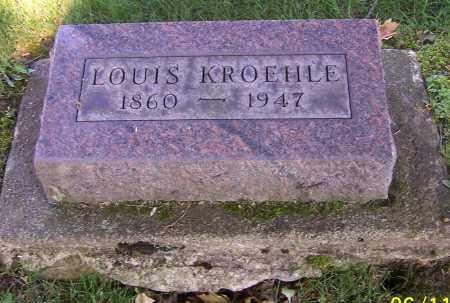 KROEHLE, LOUIS - Stark County, Ohio | LOUIS KROEHLE - Ohio Gravestone Photos