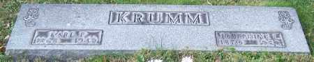 KRUMM, JOSEPHINE L. - Stark County, Ohio   JOSEPHINE L. KRUMM - Ohio Gravestone Photos