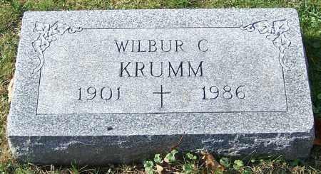 KRUMM, WILBUR C. - Stark County, Ohio | WILBUR C. KRUMM - Ohio Gravestone Photos