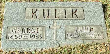 KULIK, GEORGE - Stark County, Ohio | GEORGE KULIK - Ohio Gravestone Photos