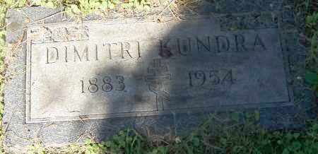 KUNDRA, DIMITRI - Stark County, Ohio | DIMITRI KUNDRA - Ohio Gravestone Photos