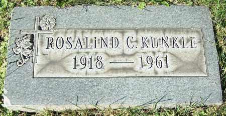 KUNKLE, ROSALIND C. - Stark County, Ohio   ROSALIND C. KUNKLE - Ohio Gravestone Photos