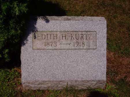 KURTZ, EDITH H. - Stark County, Ohio | EDITH H. KURTZ - Ohio Gravestone Photos