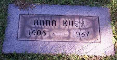 KUSH, ANNA - Stark County, Ohio | ANNA KUSH - Ohio Gravestone Photos