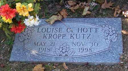 KUTZ, LOUISE C.HOTT KROPP - Stark County, Ohio | LOUISE C.HOTT KROPP KUTZ - Ohio Gravestone Photos