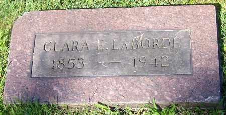 LABORDE, CLARA E. - Stark County, Ohio | CLARA E. LABORDE - Ohio Gravestone Photos