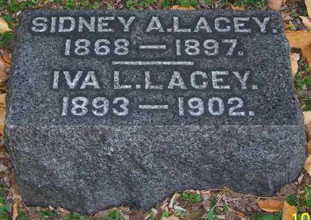 LACEY, SIDNEY A. - Stark County, Ohio | SIDNEY A. LACEY - Ohio Gravestone Photos