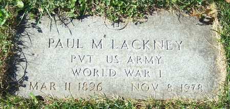 LACKNEY, PAUL M. - Stark County, Ohio | PAUL M. LACKNEY - Ohio Gravestone Photos