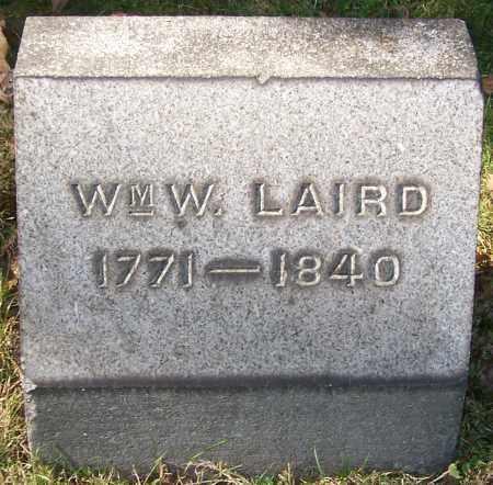 LAIRD, WM, W. - Stark County, Ohio   WM, W. LAIRD - Ohio Gravestone Photos