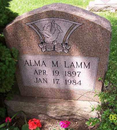 LAMM, ALMA M. - Stark County, Ohio | ALMA M. LAMM - Ohio Gravestone Photos