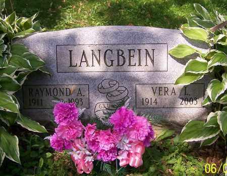 LANGBEIN, RAYMOND A. - Stark County, Ohio | RAYMOND A. LANGBEIN - Ohio Gravestone Photos