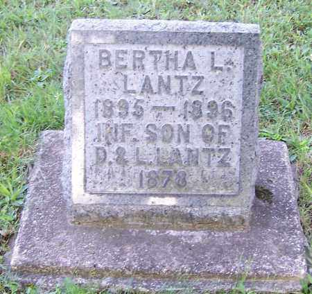 LANTZ, BERTHA L. - Stark County, Ohio | BERTHA L. LANTZ - Ohio Gravestone Photos