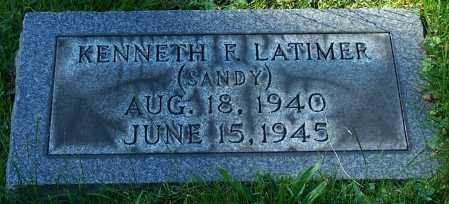 LATIMER, KENNETH F. - Stark County, Ohio | KENNETH F. LATIMER - Ohio Gravestone Photos