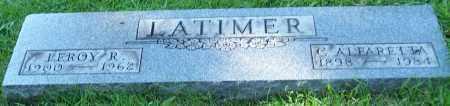 LATIMER, C.ALEARETTA - Stark County, Ohio   C.ALEARETTA LATIMER - Ohio Gravestone Photos