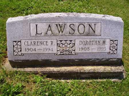 LAWSON, CLARENCE R. - Stark County, Ohio | CLARENCE R. LAWSON - Ohio Gravestone Photos