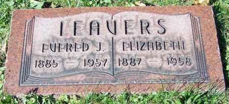 LEAVERS, EVERED J. - Stark County, Ohio | EVERED J. LEAVERS - Ohio Gravestone Photos