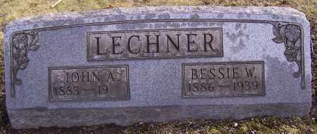 LECHNER, BESSIE W. - Stark County, Ohio | BESSIE W. LECHNER - Ohio Gravestone Photos