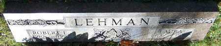 LEHMAN, ROBERT E. - Stark County, Ohio | ROBERT E. LEHMAN - Ohio Gravestone Photos