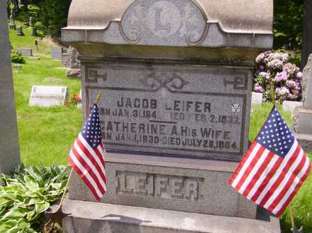 LEIFER, CATHERINE - Stark County, Ohio | CATHERINE LEIFER - Ohio Gravestone Photos