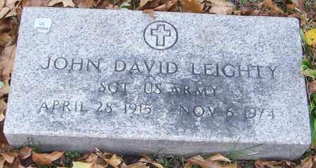 LEIGHTY, JOHN DAVID - Stark County, Ohio | JOHN DAVID LEIGHTY - Ohio Gravestone Photos